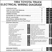 1994 toyota camry wiring diagram u0026 graphic