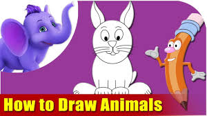 learn how to draw cartoon animals the fun and easy way youtube
