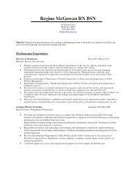 Objective For Nurse Resume Director Of Nursing Resume Resume For Your Job Application