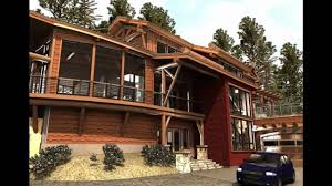 timber frame cabin contemporary log home using modular