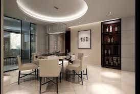 modern living and dining room fully furnished with conditione
