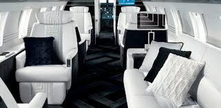 luxury private jets take interior design to new heights