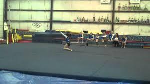 nine year old gymnast bailey gymport exibition 2 18 2012 youtube