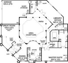 adobe style home plans plan 6793mg adobe style house plan with icf walls adobe pantry