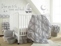 levtex baby willow 5 piece crib bedding set gray babies