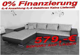 Wohnzimmer Couch G Stig Wohnlandschaft Bettsofa 295cm Links Oder Rechts Verwendbar