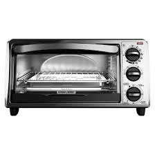 Toaster Oven Spacemaker Black Decker 4 Slice Toaster Oven Black Target