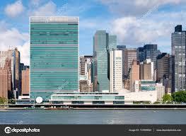 siege des nations unis le siège de l organisation des nations unies et autres gratte ciels