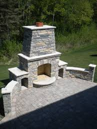 Outdoor Fireplace Chimney Height by Brick Pizza Oven U0026 Outdoor Fireplace Phoenix Desert Crest Llc
