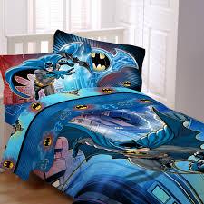 Overstock Com Bedding Batman U0027lightning Night U0027 5 Piece Bed In A Bag With Sheet Set