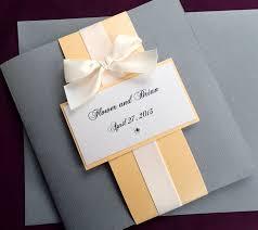 folded wedding invitation assembly invitations ideas folded