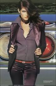 Stephanie Banister Interview Stephanie Seymour Poster Stephanie Seymour