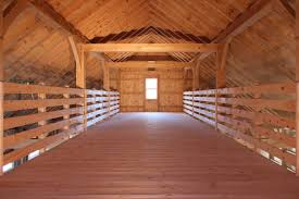 how to build a garage loft saratoga post and beam 1 story center aisle barn the barn yard