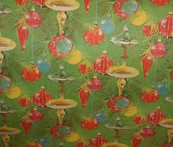 vintage christmas wrapping paper collection on ebay