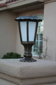 solar pillar lights outdoor line your driveway or walkway with this 3 5 tall victorian solar