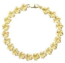 gold flowers necklace images Plumeria hawaiian flowers custom hawaiian heirloom jewelry png