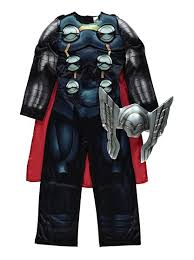 thor costume marvel assemble thor fancy dress costume kids george