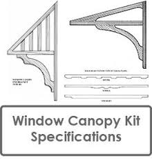 Awning Kits Window Canopies And Timber Window Awnings In Decorative Timber In