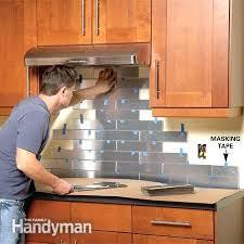 easy kitchen backsplash cheap kitchen backsplash ideas unique and inexpensive kitchen ideas
