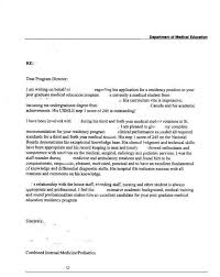 physician letter of recommendation medical letters of