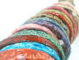 ceramic bracelet images Ceramic jewelry unique and stylish red and white ceramic bracelet jpg
