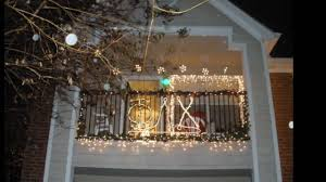 Christmas Ideas For Home Decorating Balcony Decorating Contest 2009 Jacob Wood Youtube
