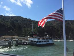 Dirty American Flag A Heavenly Day At Angel Island The Camino Provides
