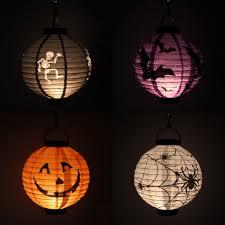halloween paper craft decorations halloween lighting hanging lantern idea alongside