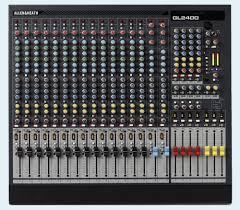 Sound Desk Allen U0026 Heath Gl2400 424 Professional Mixing Desk Live Sound
