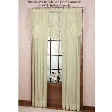 nimbus stripe fan valance and window treatment