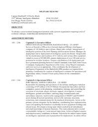 Free Military Resume Builder Download Military To Civilian Resume Examples