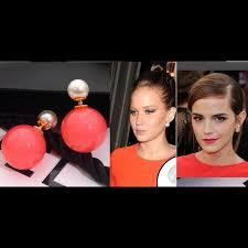 sided stud earrings 35 jewelry tribal pearl earring sided pearl stud