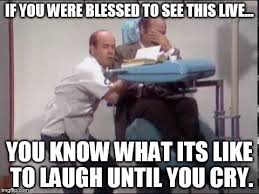 Dentist Memes - tim conway and harvey korman in the classic dentist sketch on
