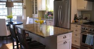 kitchen impressive kitchen island granite top breakfast bar