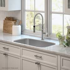 kraus kbu14e164042ss 31 1 2 inch kitchen sink and commercial