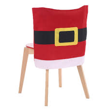 chair back covers 2pcs set christmas chair back covers christmas dinner slipcovers