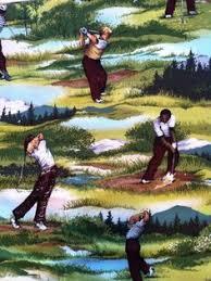 Golf Curtains Golf Shower Curtain Golfer Bathroom Decor Kids Bath Ball Swing