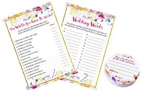 words of wisdom cards for bridal shower 3 pack 2 bridal shower and advice cards how