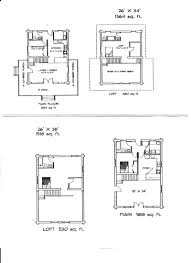 Cabin Floorplan by Model Home S Page 3
