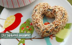 hello gravy get your craft on diy birdseed ornament tutorial