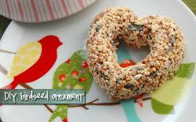 bird seed wedding favors hello gravy get your craft on diy birdseed ornament tutorial