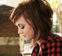 red brown long angled bobs cute angled hairstyle for medium length hair dark red hair medium