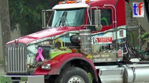 kenworth usa kenworth tipper trailer truck detroit usa 08 15 2016 youtube