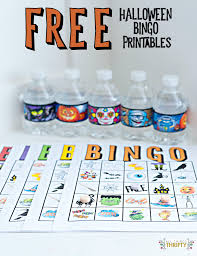 Halloween Free Printable Cards Kids Halloween Party Bingo Cards Free Printable All Things Thrifty
