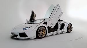 lamborghini custom gold lamborghini aventador gets carbon body kit from rowen video
