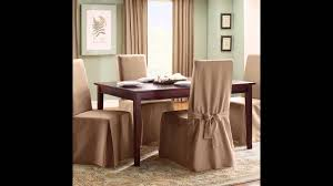 Covers For Dining Chair Seats by Dining Room Chair Covers Dining Room Chair Seat Covers Youtube