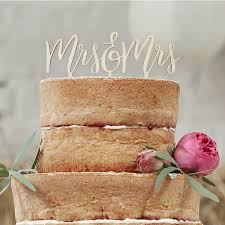 mrs and mrs cake topper wooden mrs mrs cake topper boho