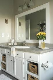 Frames For Mirrors In Bathrooms by Best 20 Frame Mirrors Ideas On Pinterest Framed Bathroom