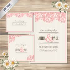 Wedding Invitation Card Free Download Ornamental Wedding Invitation Card Free Vectors Ui Download