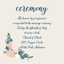 ceremony card wording wedding reception cards and wedding ceremony cards by basic invite